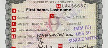 Best way to get a Uganda Travel Visa