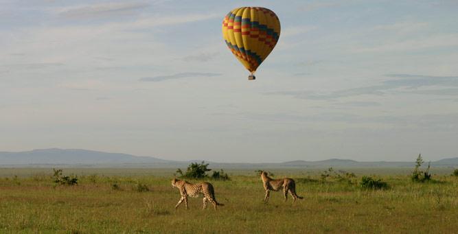Hot Air Ballooning Safaris in Uganda