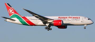 Kenya Airlines starts direct flights to USA