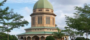 The Bahai Temple in Uganda